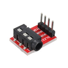 LEORY 3.5mm Plug Jack Stereo TRRS Headset Audio Socket Breakout Board Extension Module(China)