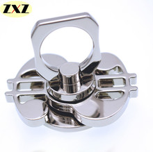 Multipurpose Metal Stainless steel ring support EDC Two-Spinner Fidget Toys Pattern Hand Spinner Metal Fidget Spinner and ADHD