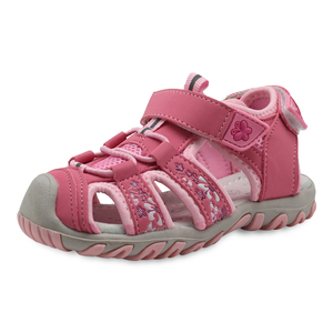 Image 2 - Apakowa nowe dziewczyny sportowe sandały plażowe wycinanka letnie buty dziecięce maluch sandały zamknięte Toe dziewczyny sandały dziecięce buty ue 21 32