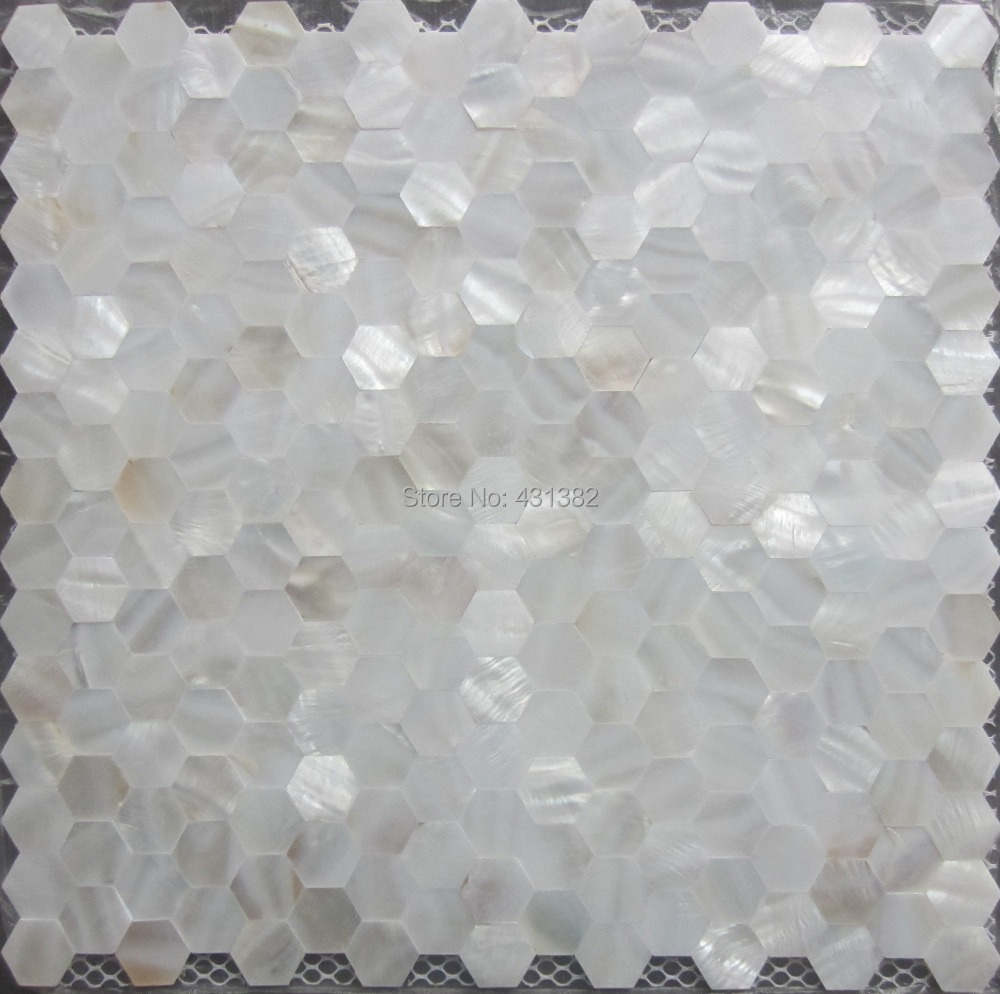 Mother of pearl tile hexagon seamless on mesh 20mmshell mosaic mother of pearl tile hexagon seamless on mesh 20mmshell mosaic tile bathroom washroom wall tile kitchen backsplash tile in wall stickers from home dailygadgetfo Image collections