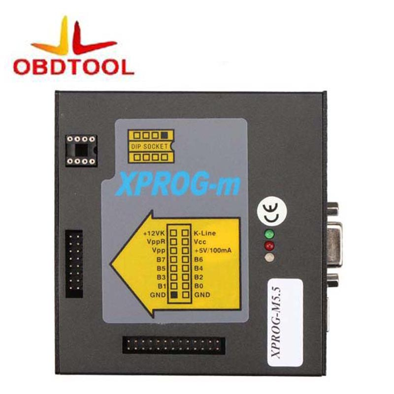 ObdTooL Full Metal Adaptateurs X PROG M XPROG-M Programmeur ECU Chip Tunning Xproag M V5.55 Nouvelle Version