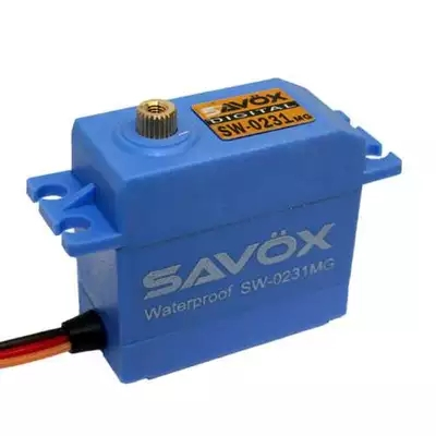 Savox SW 0231MG Waterproof High Torque STD Metal Gear Digital Servo