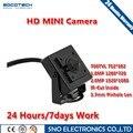 SOCOTECH Новое Прибытие Мини HD Крытый 3.7 мм 700TVL 1/3 ''CMOS Видеонаблюдения Цветная купольная Камера