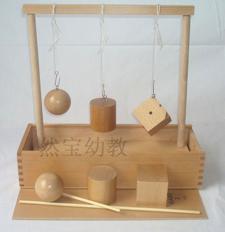 Baby Toys Froebel Shape Cognitive Developing Wooden Toys GABE2 Teaching Learning Blocks Child Gift