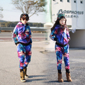 2016 Kids space tracksuits boys girls clothing sets cotton casual sports suit for spring autumn teenager clothes