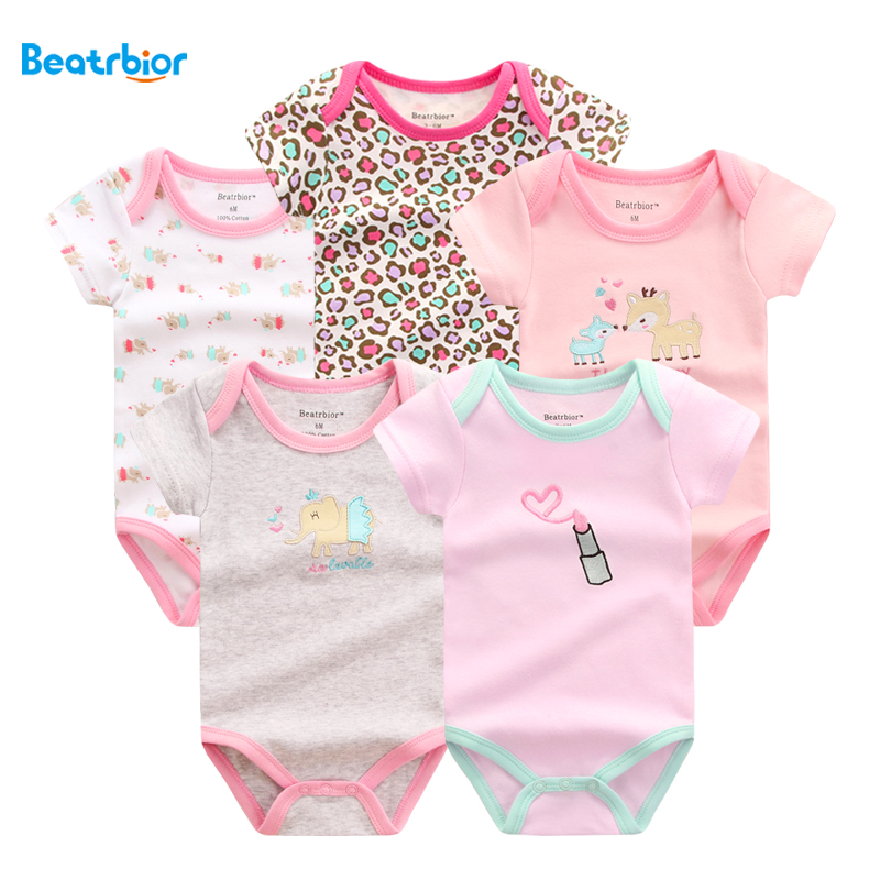 Baby Rompers Summer Baby Clothing Set 100%Cotton Infant Jumpsuit Short Sleeve Boy Girl Romper Overalls Baby Clothes Costume baby boy clothes kids bodysuit infant coverall newborn romper short sleeve polo shirt cotton children costume outfit suit