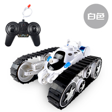 High Speed Tank 360 degree flip stunt Car Deformation of the tanks RC cross-country Caterpillar tank Children Kids Gift