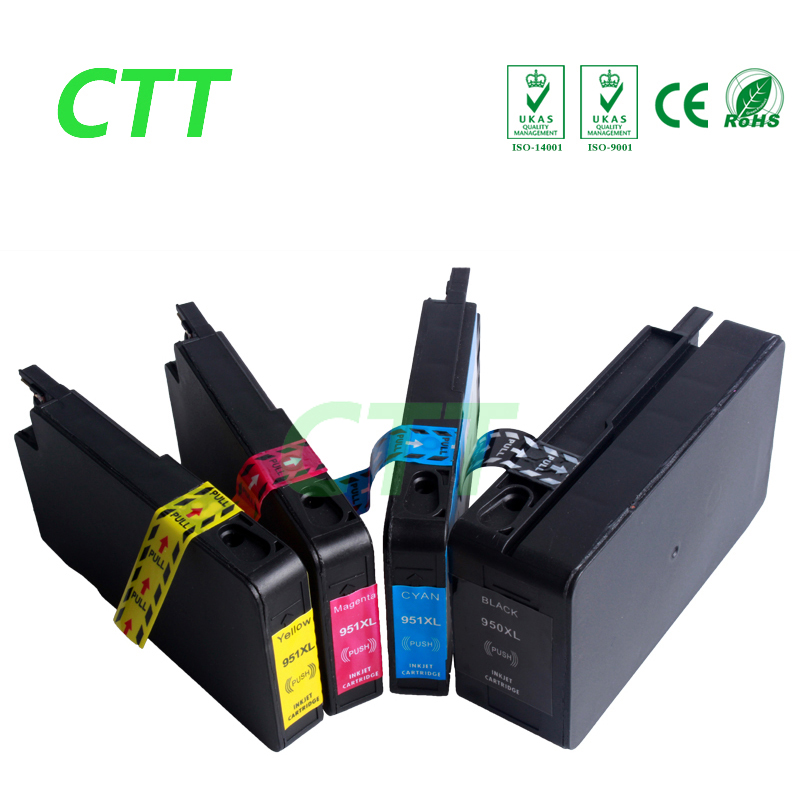 Full Ink Compatible HP 950 950XL 951 951XL Ink Cartridge For Officejet Pro 8600 8100 8610
