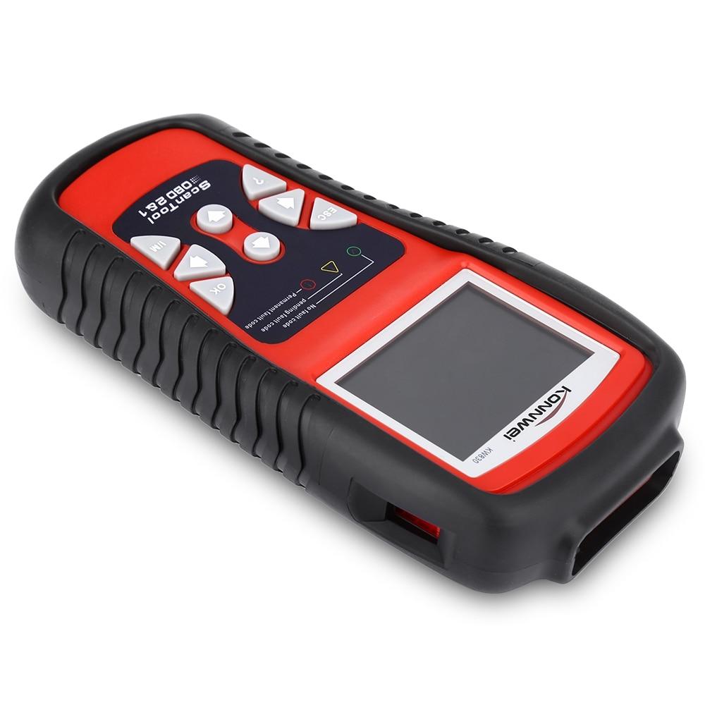 Free Shipping KW830 OBD2 EOBD Car Diagnostics Auto Scanner Automotive Fault Code Reader Diagnostic tool Car detector Automotive
