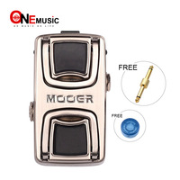 Mooer Leveline Volume Guitar Effect Pedal Mini Volume Pedal for Guitar Bass Keyboard Metal Shell True Bypass With Free Connector