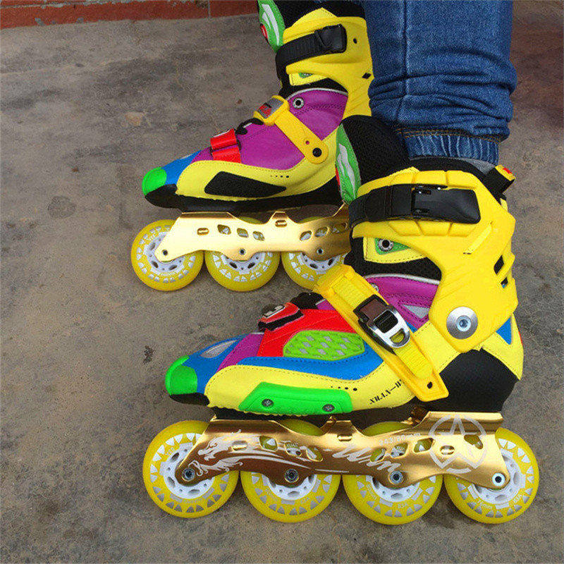 Slide Recommend Professional Inline Skates for Adult Sliding Skating Patines with Durable PU Wheels For SEBA High Light HL HV цена