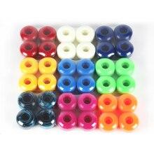 Las ruedas de monopatín más vendidas de 4 uds, ruedas de balancín dobles de 95A, ruedas deslizantes de PU de 52mm x 32mm