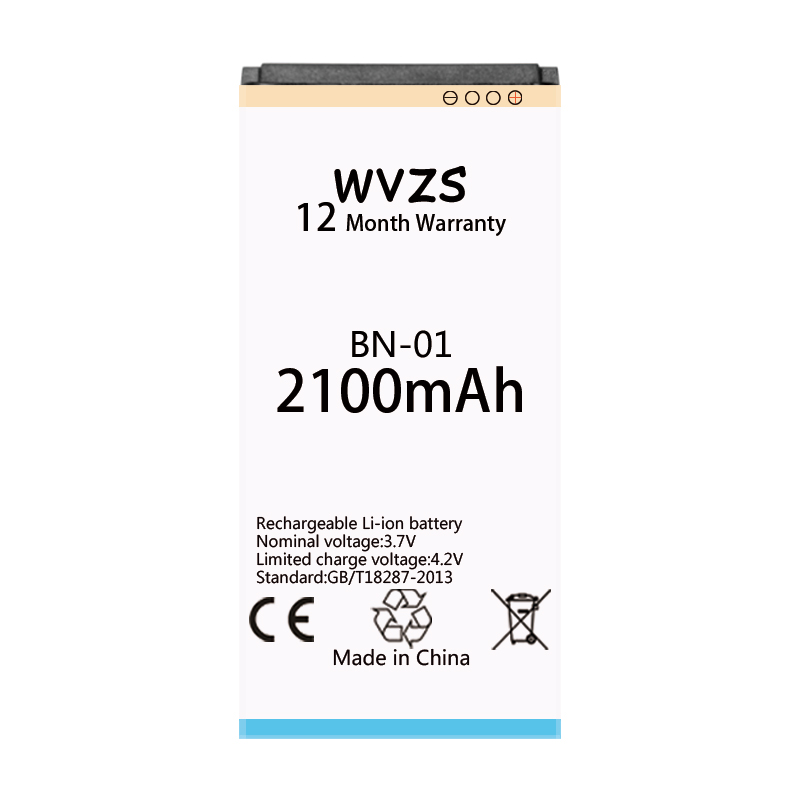 wvzs 3180mAh Li-ion Battery BN-01 For Nokia Lumia X 1045 <font><b>RM</b></font>-980 <font><b>RM</b></font> 980 X2 X+ Plus <font><b>1013</b></font> X2DS Replacement Batteries image