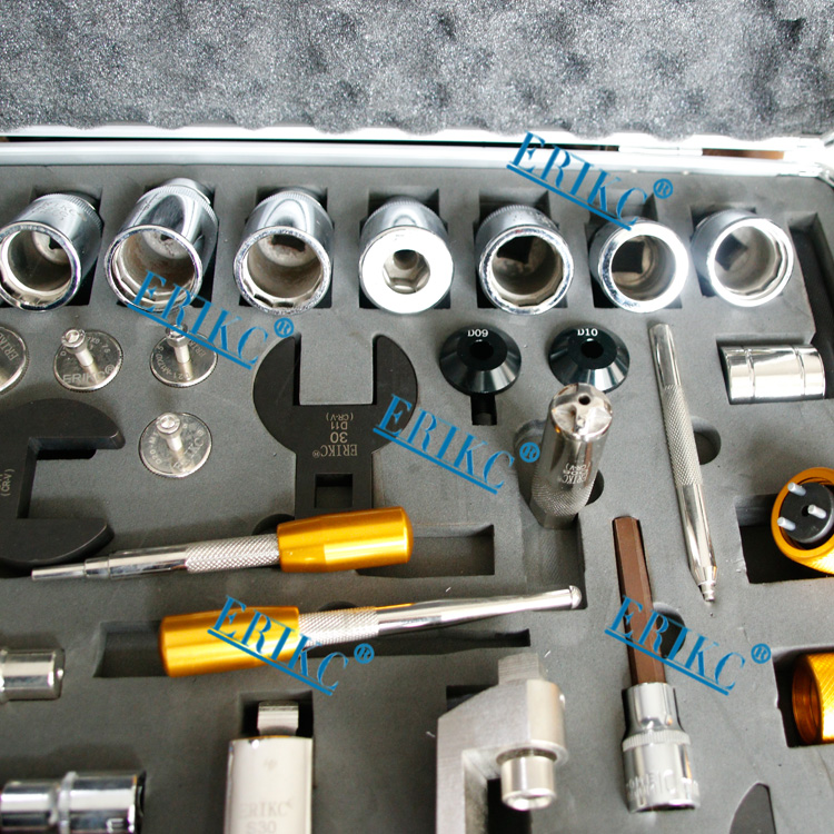 Diesel fuel injector removal tool and Disassembly tools