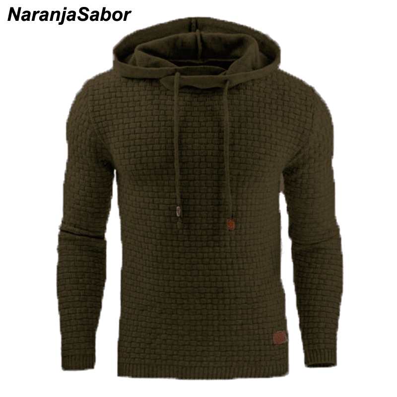 NaranjaSabor 2020 Autumn Men's Hoodies Slim Hooded Sweatshirts Mens Coats Male Casual Sportswear Streetwear Brand Clothing N461 4