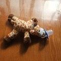 1 шт./компл. 25 см милые Животные BPA БЕСПЛАТНО Детские пищевой силиконовая соска обезьяна Палевый игрушка Соску с плюшевые Игрушки