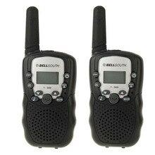 T388 детей радио игрушки walkie talkie дети радио UHF двухстороннее радио T-388 детская портативной рации пара для мальчиков и подарок для девочек