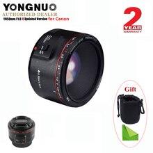 Объектив YONGNUO YN50mm F1.8 II с большой апертурой и автофокусом для Canon, объектив с эффектом боке для камеры EOS 70D 5D2 5D3 DSLR