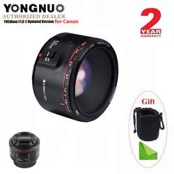 YONGNUO YN50mm F1.8 II Grote Diafragma Autofocus Lens voor Canon, kleine Lens Bokeh Effect Lens voor EOS 70D 5D2 5D3 DSLR Camera