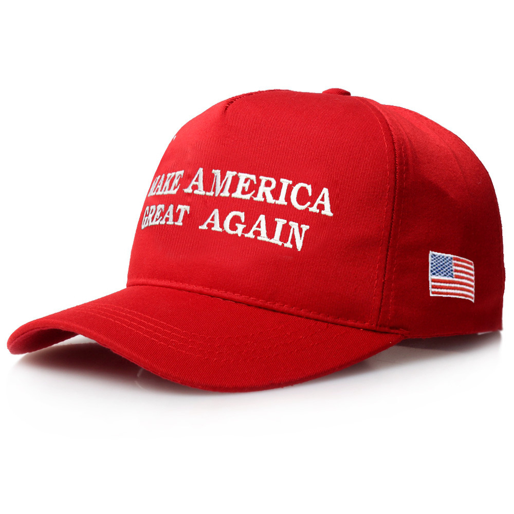 [SMOLDER]New Arrival Trump 2020 America Baseball Cap Casual Cotton Hip Hop Caps Embroidery  Fitted Snapback Caps