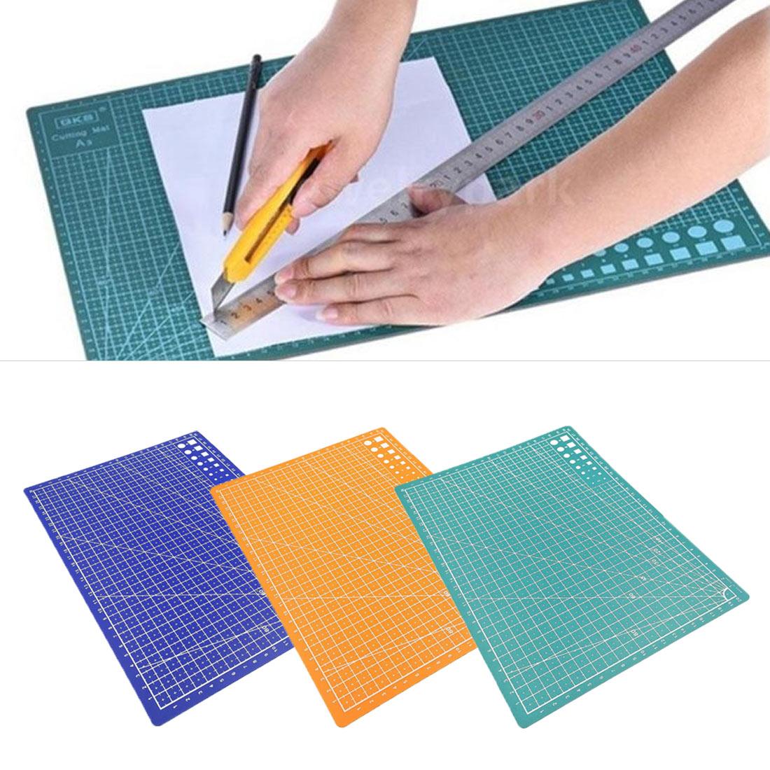 1PC A4 Grid Line Self-healing Cutting Pad Craft Card Cloth Leather Cardboard Sewing Tool