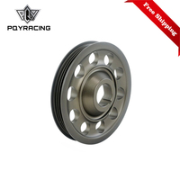 Free Shipping Racing Light Weight Aluminum For Civic EK9 Integra DC2 Type R Crank Pulley CTR PQY CP010