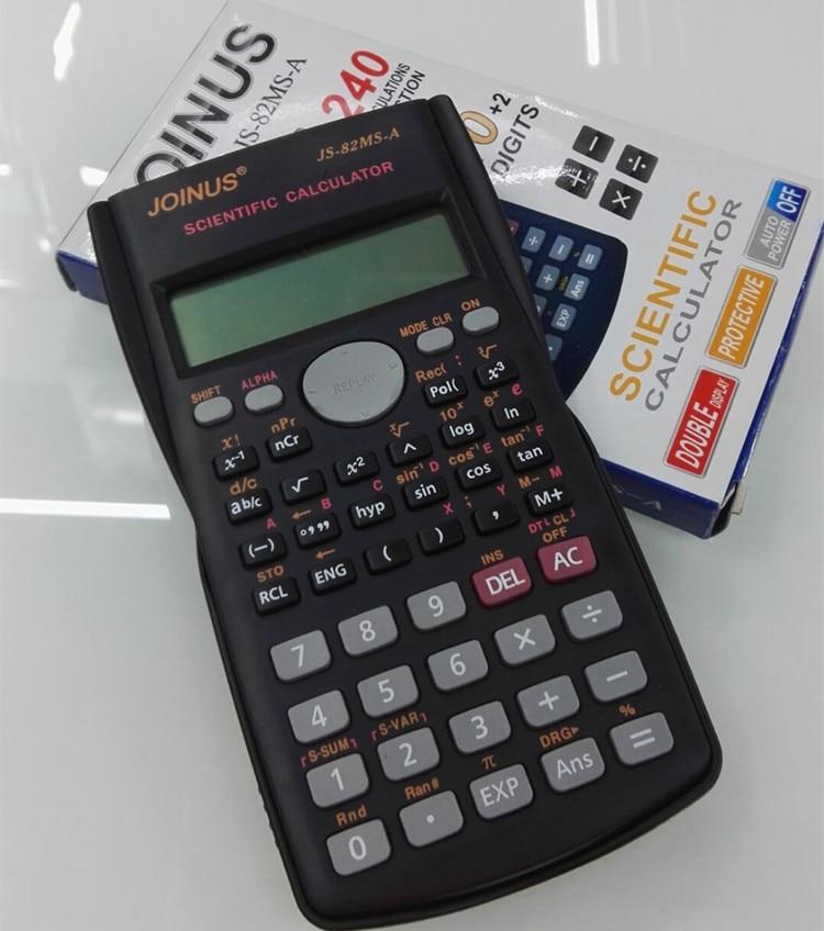 Хорошее качество школьников Функция Калькулятор научный калькулятор js-82ms-5 multi Функция al Счетчик Расчет машина