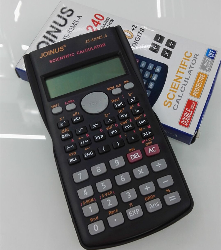 Good Quality School Student Function Calculator Scientific Calculator Js-82ms-5 Multifunctional Counter Calculating Machine