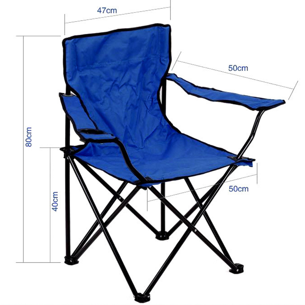 Beach Chairs Portable Outdoor Fishing Chair Folding Backpack Camping Oxford Cloth Foldable Picnic Fishing Beach Chairs Lightweight Easy To Repair Furniture