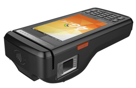 4G LTE Touch Pos Terminal Support IC Card Reader,fingerprint Sensor /RFID/thermal Printer