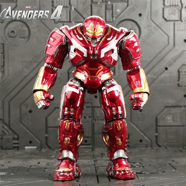 Super Heróis Vingadores Thanos 4 Endgame Articulações Móveis pantera Negra Spiderman Figuras de Ação Brinquedos Infantis Presentes para o Menino 17cm