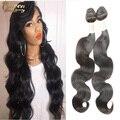 8A Grado Productos de Pelo de la Reina el Amor La Belleza Peruana Virgin Hair Body Wave 3 unids Onda Del Cuerpo Del Pelo Virginal Peruano Sin Procesar