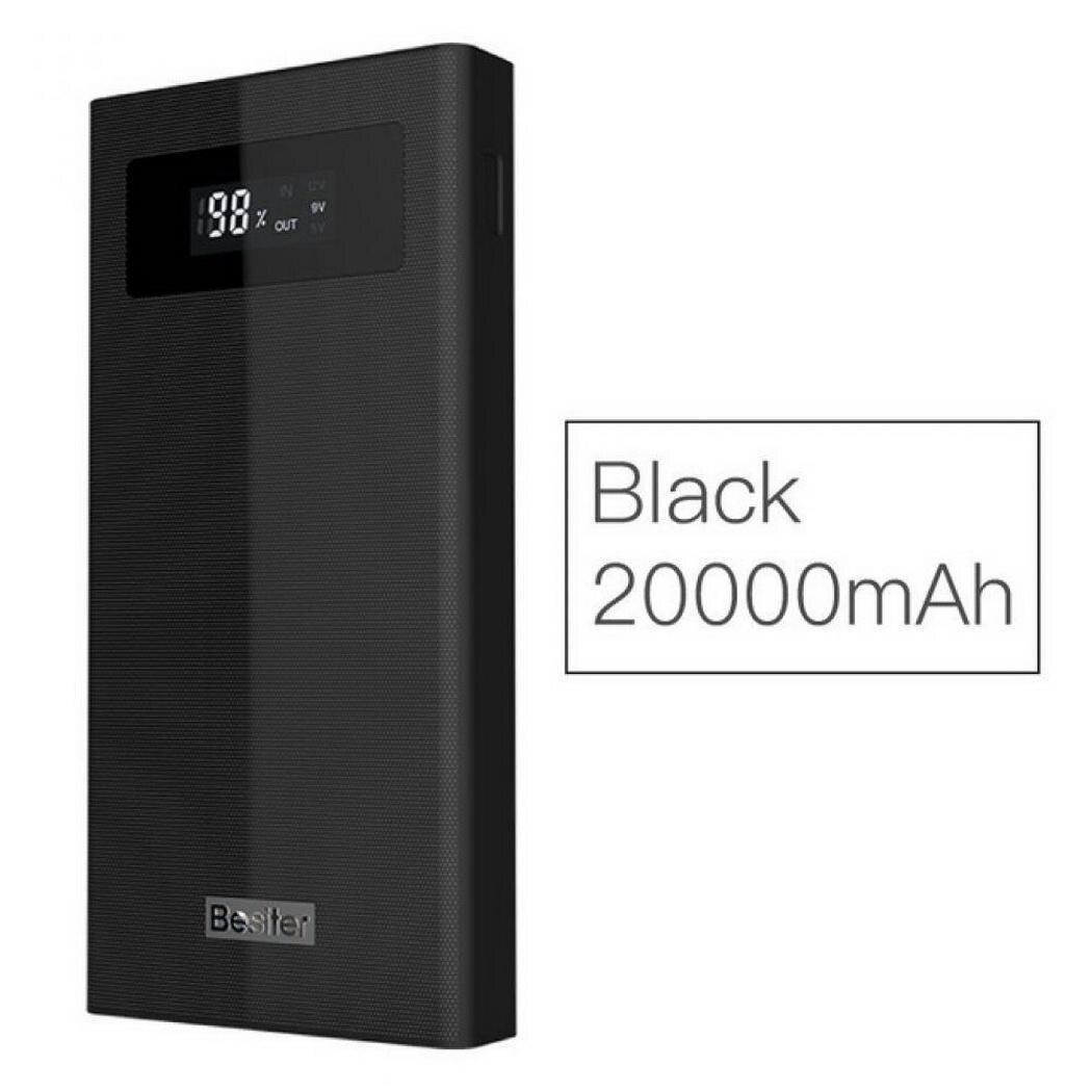 Batterie externe 20000 mAh batterie externe chargeur rapide de Charge portable chargeur de batterie externe pour téléphone