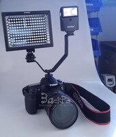 10pcs DSLR Camera Flash Stand Hot Shoe Adapter Microphone Videl Light Tripod Mount Holder V Metal