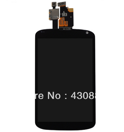 ФОТО Free shipping touch digitizer and LCD display for LG Nexus 4 E960 100%Original