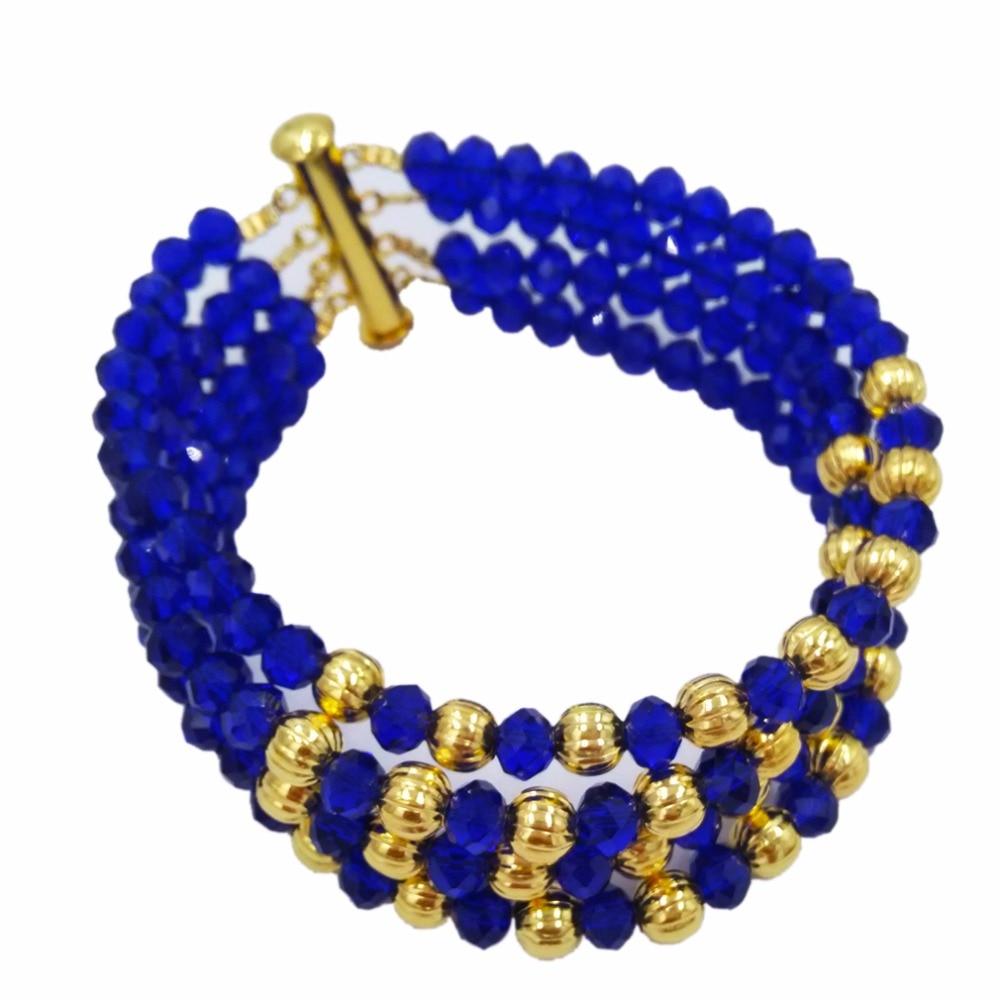 d1380daecc5f8 Aliexpress.com : Buy African Jewelry Sets Royal Blue Nigerian Wedding Beads  Fashion Jewelry Set 2018 Jewelry Set Free Shipping 5C SXH001 from Reliable  ...