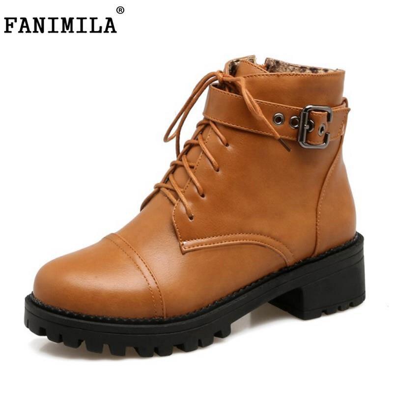 FANIMILA Size 34 43 Lady High Heel font b Boots b font font b Women b