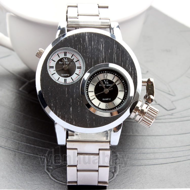 New Arrival 2015 Brand Quartz Men Casual Watches V6 Wristwatch Stainless Steel Clock Fashion Hours Affordable gift new arrival 2015 brand quartz men casual watches v6 wristwatch stainless steel clock fashion hours affordable gift
