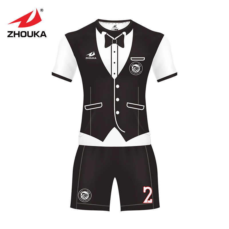 2dd697a07 Customized professional wholesale soccer jersey Club mens or womens make  your own logo original design football