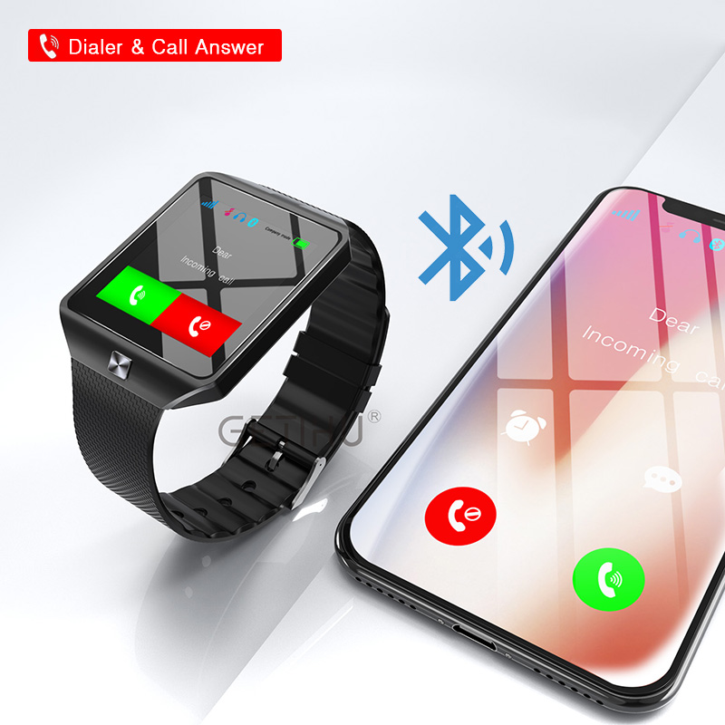 HTB1kIiiXcfrK1Rjy0Fmq6xhEXXaz - Stylish Smartwatch with Bluetooth SIM TF Card Slot and Camera