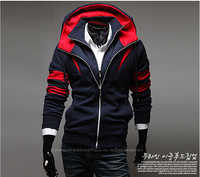 Plus Size Sports Hooded Jacket Casual Winter Jackets Hoody Sportswear For Assassins Creed Men S Clothing