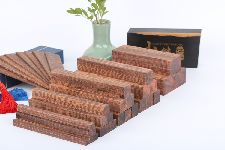 Snakewood Letterwood(Brosimum Guianense) Pen Blanks Turning Blanks Knife Scales Handle Parts Grips