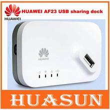 Original unlocked HUAWEI AF23 4G LTE/3G USB Sharing Dock Router Ethernet WiFi Hotspot Access Point(China (Mainland))