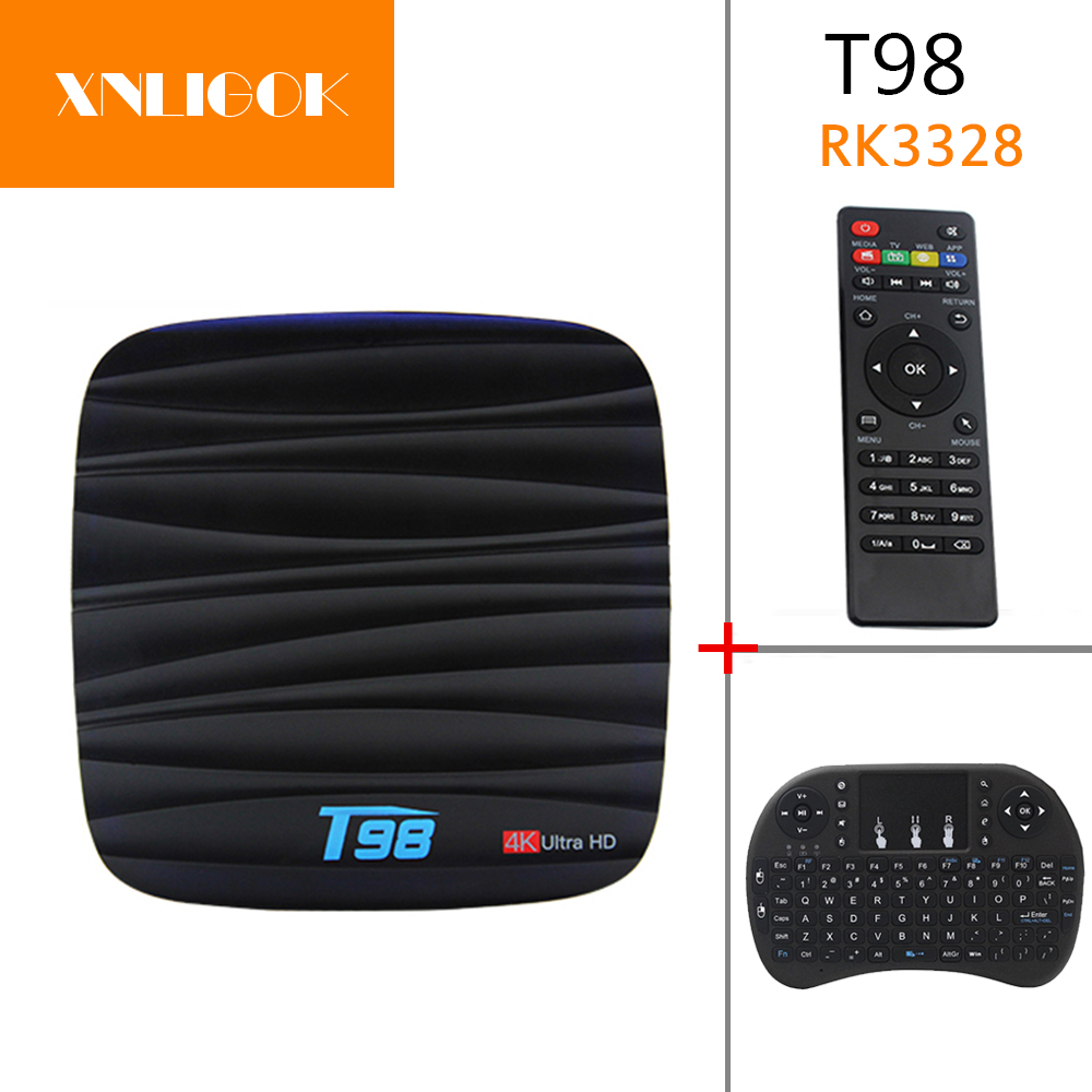 Considerate 2018 Hottest Android 7.1 T98 Tv Box Quad Core 2g/8g 2g/16g Vp9 Full Hd 4k 1080p Ko Di Media Player T98 Set Top Box Tv Receivers