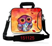 Cute Owl 13″ 15″ 17″ Laptop computer shoulder bag Pocket book PC Pill case cowl for 10 11.6 13.three 14.four 15.four 17.three For Macbook Air Professional Asus