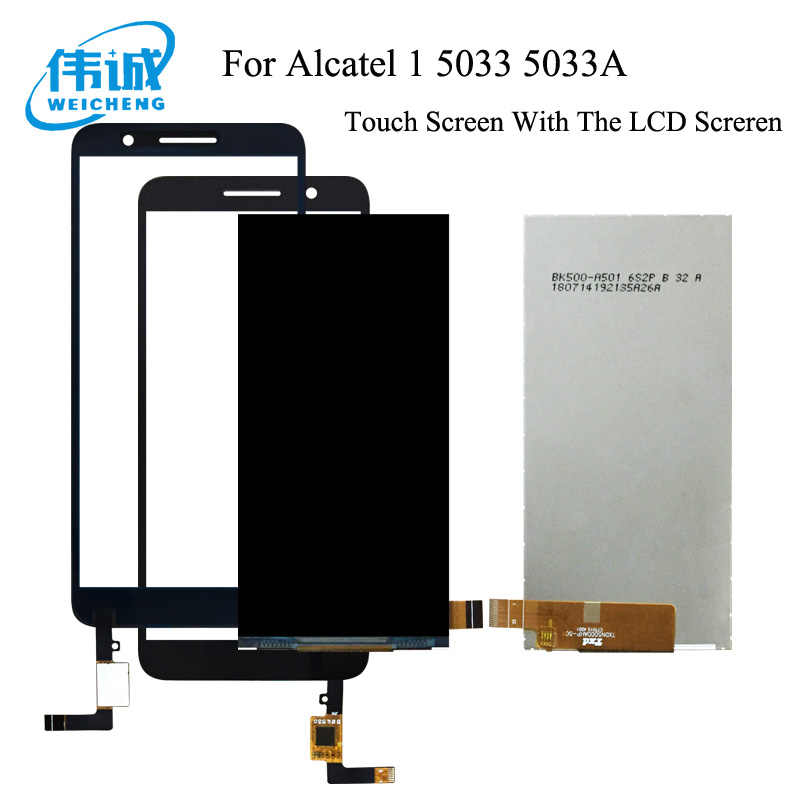 Für Alcatel 1 5033 5033A 5033J 5033X 5033D 5033T Monitor LCD Display + Touch Screen Digitizer Für Telstra Ätherisches plus 2018