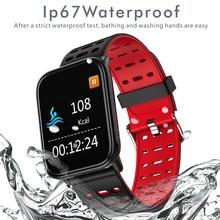 цены LIGESmart Bracelet Waterproof Wearable Device Heart Rate Monitor Blood Pressure Oxygen Color Display Smart Watch For Android IOS