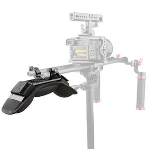 Image 5 - Camvate Universele Schouder Mount/Schouder Pad With15mm Staaf Klem Voor Dslr/Video /Camcorder Camera Schouder Rig Ondersteuning systeem
