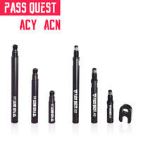 PASS QUEST road bicycle tire tubeless tire valves extender bike tubeless tire Valve NO detachable And detachable 20/40/60MM|Valve| |  -