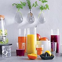 Glass Vase Terrarium Vases Flower Pots Wall Glass Candle Modern Vaso Wedding Floor Air Planter Decoratives Vase